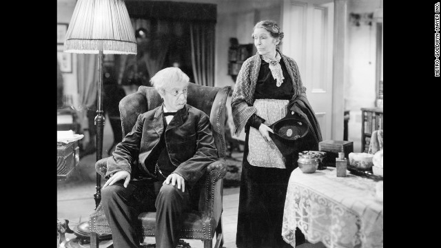 "Robert Donat and Louise Hampton star in ""Goodbye, Mr. Chips."" It is surprising when Donat beats out strong contenders -- including Clark Gable for ""Gone With The Wind"" and Laurence Olivier for ""Wuthering Heights"" -- to win the best actor Academy Award in 1940. <!-- --> </br>"