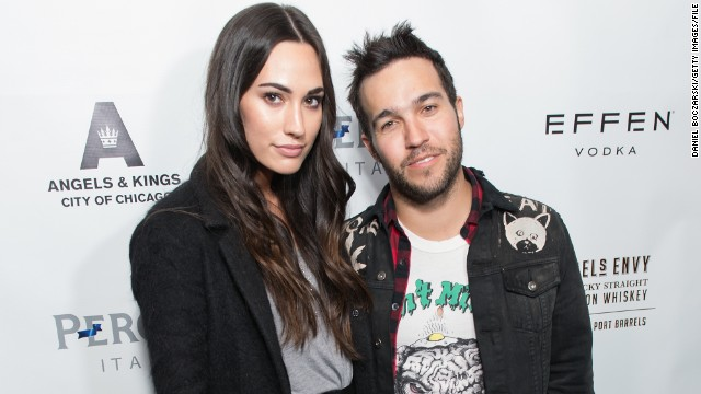 "Fall Out Boy's Pete Wentz will soon be a dad again. The 34-year-old musician announced on Instagram that he and Meagan Camper, his model girlfriend of close to three years, are expecting their first child together. ""We're super excited to announce we're expecting a baby!"" Wentz shared along with a photo of himself and Camper, 24, in bed together. Wentz also has a 5-year-old son, Bronx Mowgli, with his ex-wife Ashlee Simpson."