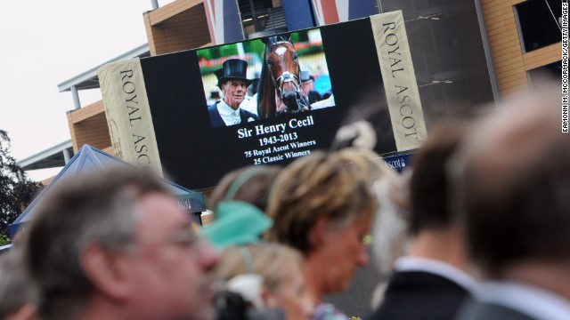 Since Frankel's retirement, his trainer Henry Cecil, who hailed him the best horse he had ever seen, has died from cancer.