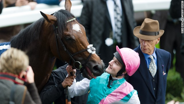 Queally admits he and Frankel formed a tight bond, and he regularly chatted to his mount throughout a race.