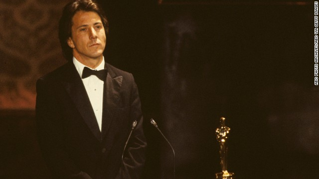 "Like Jack Nicholson before him, Dustin Hoffman was forever the bridesmaid and never the bride. But after losing for ""Midnight Cowboy,"" ""The Graduate"" and ""Lenny,"" Hoffman got to accept the award at the 1980 ceremony, thanks to his work in best picture winner ""Kramer vs. Kramer."""