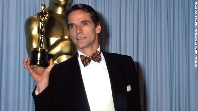 "We suppose the academy couldn't justify giving Kevin Costner the best director, best picture and the best actor prize for ""Dances With Wolves,"" so Jeremy Irons took home the statuette for best actor for his role as Claus von Bülow in ""Reversal of Fortune."""