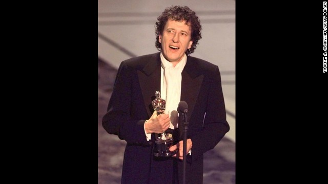 "Some actors languish as nominees for years before winning an Oscar, but Geoffrey Rush won the best actor prize on his first try with ""Shine."""