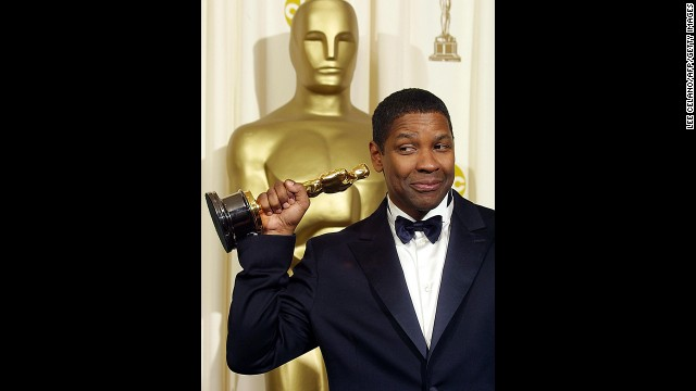 "Denzel Washington has a reputation as a nice guy in Hollywood, so his transformation into the monstrous detective Alonzo in ""Training Day"" was incredible to watch. After already winning a best supporting actor statuette for ""Glory,"" Washington took home the best actor award for ""Training Day,"" making him the first African-American to win both."