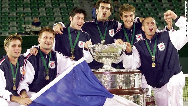 Gasquet, Tsonga and Monfils have all spoken about wanting to win the Davis Cup for France this year. Les Bleus -- who will face Germany in April's quarterfinals -- last triumphed in the team competition in 2001 when they defeated Australia on the road.