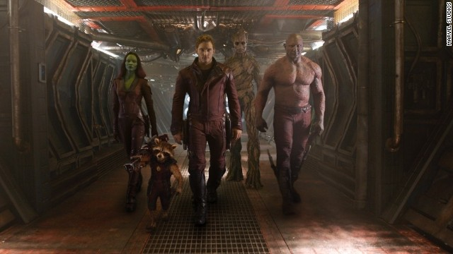 'Guardians of the Galaxy' trailer debuts