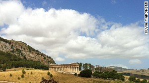 Segesta: Just you and ancient history.