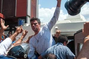 Leopoldo López tras las rejas