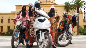 Fashionistas at the wheel: Morocco's girl bikers