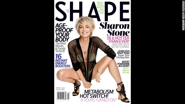 You wouldn't know it by looking at Sharon Stone, but the 55-year-old has struggled with accepting her looks as she ages.