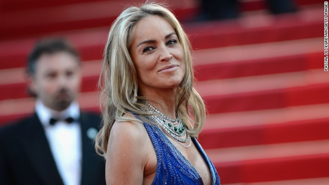 You wouldn't know it by looking at Sharon Stone, but the 56-year-old has struggled with accepting her looks as she ages.