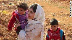 Malala: Syrian children need bright future