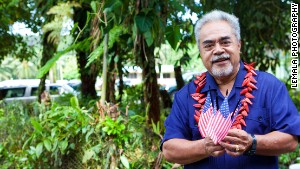 Leneuoti Tuaua is the lead plaintiff in a lawsuit seeking U.S. citizenship for residents of American Samoa.