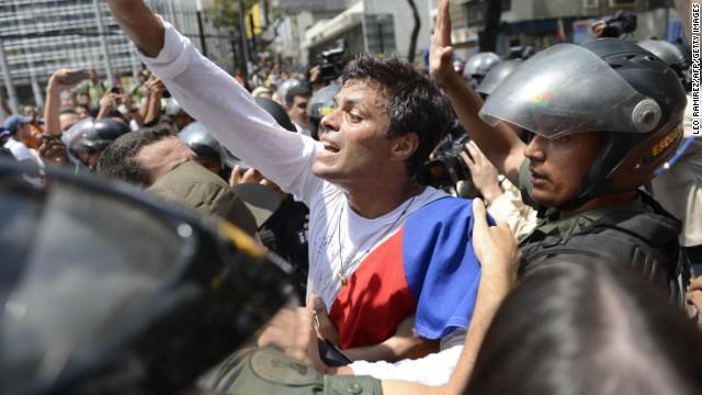 ONU pide liberar a Leopoldo López; el gobierno de Venezuela lo rechaza