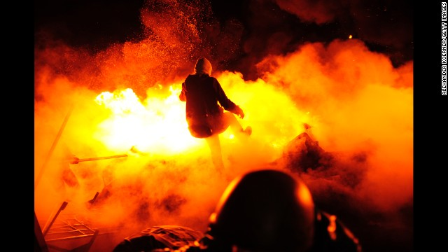 Photos: Ukraine protests turn deadly