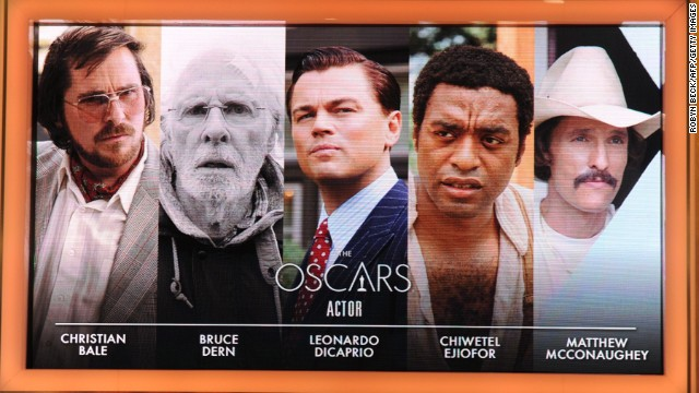 Superstars, a newcomer and a Hollywood veteran are competing for best actor honors at the 86th annual Academy Awards in March. Find out which legends took home Oscars in the past -- from German actor Emil Jannings at the first awards ceremony in 1929 to three-time winner Daniel Day-Lewis at the 2013 event:
