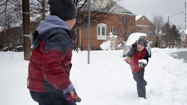 Schools around the country grappled this winter with rough weather, unsafe roads and power outages, which meant a lot of time for students -- including these from the Washington, D.C., area -- to play in the snow. After 10 snow days, schools in Prince William County, Virginia, are reducing elementary recess to 10 minutes per day and adding other instructional days. Here's how other schools with extreme bad weather cancellations are making time for students to learn.