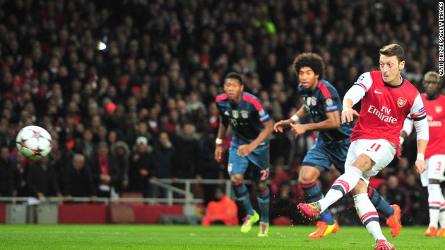 Bayern eases past Arsenal