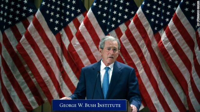 The thing George W. Bush misses about being president