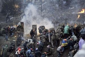 Protestas mortales en Ucrania