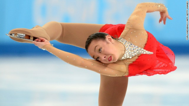 Australia's Brooklee Han performs in the women's figure skating competition on February 20.