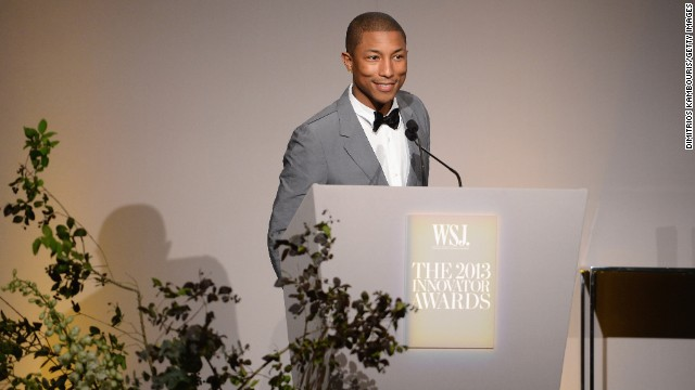 Pharrell celebrated his 40th birthday in April 2013, but we wouldn't believe it if he didn't say so himself.