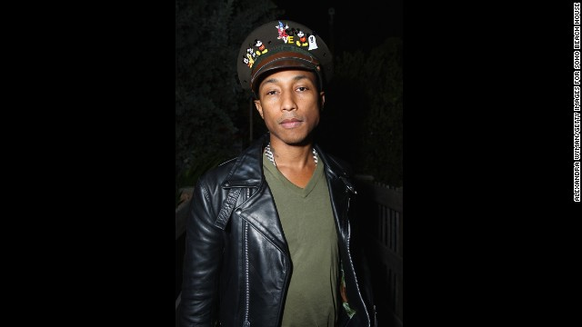 Pharrell insists that the secret to his dermatological success is simply washing his face, but we wonder if having an impressive hat repertoire has something to do with it.