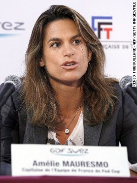 Since retiring, Mauresmo is as immersed in tennis as she ever was. In 2011 she accepted a role as tournament director of the Paris Open -- an event she won three times. Her job is to liaise with both players and the press.