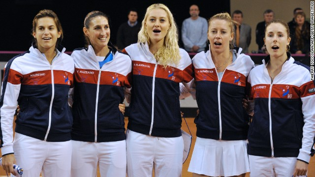 "In July 2012 Mauresmo spoke of her ""great pride"" at being appointed captain of France's Fed Cup team, which is battling to return to the top tier of the competition -- the World Group."