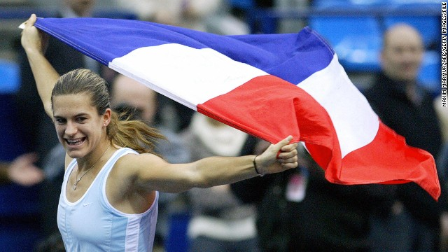 Mauresmo's finest moment representing her country was helping France claim its second Fed Cup title in 2003, winning all eight of her singles rubbers that season.