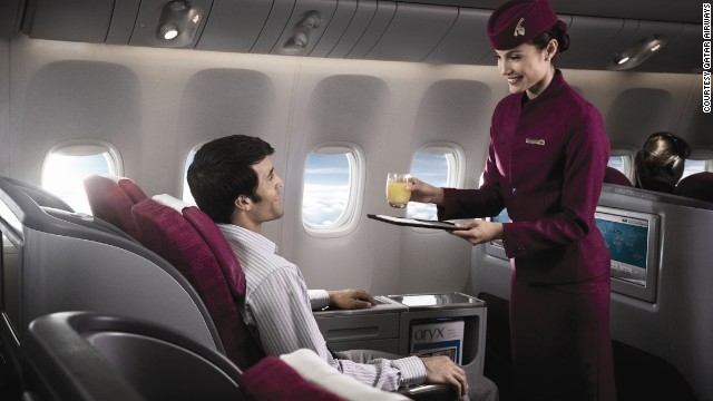 Based out of Doha, Qatar's national airline won second place in this year's World Airline Awards. The airline is known for its friendly cabin crew, impressive entertainment systems and cosy seats.