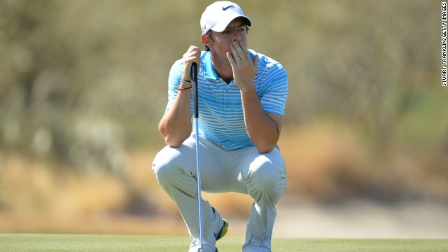Rory McIlroy was eliminated from the World Match Play tournament in Arizona by Harris English.