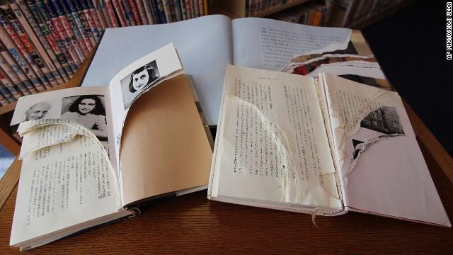 Arrancan decenas de páginas de ejemplares de El diario de Ana Frank en bibliotecas de Tokio