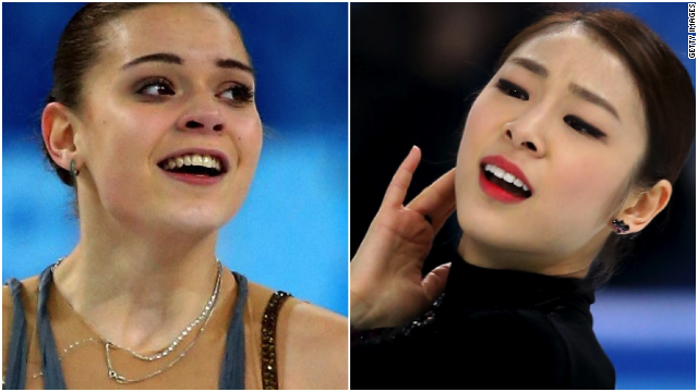 Adelina Sotnikova became the first Russian woman to win a figure skating gold medal, besting South Korea's Yuna Kim.