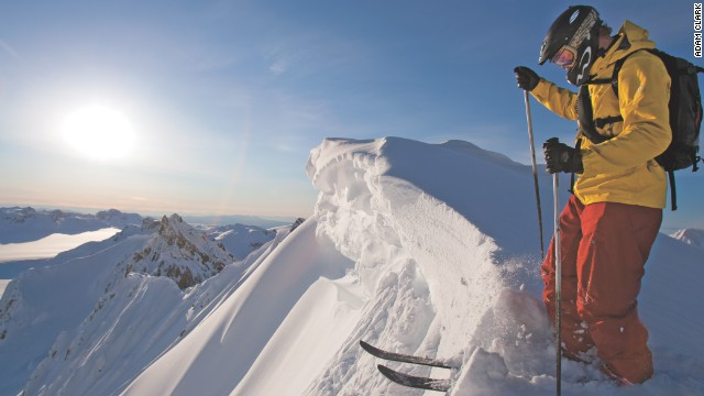 Former Olympic downhill champion Tommy Moe is based at in the Tordrillo Mountains in Alaska and acts as a guide to enthusiasts who want to tackle the challenging conditions with endless steep couloirs -- narrow gullies in steep mountainous terrain. It is ideal for heli-skiing and other off-piste activity.