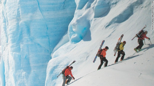 """A skiing expedition to the Antarctic Peninsula is not for the fainthearted or financially challenged. But adventurer Doug Stoup believes it is worthwhile because """"the inner beauty is just insane"""" and the trips he leads """"push the limits of human endurance"""" in stunning, inhospitable terrain."""