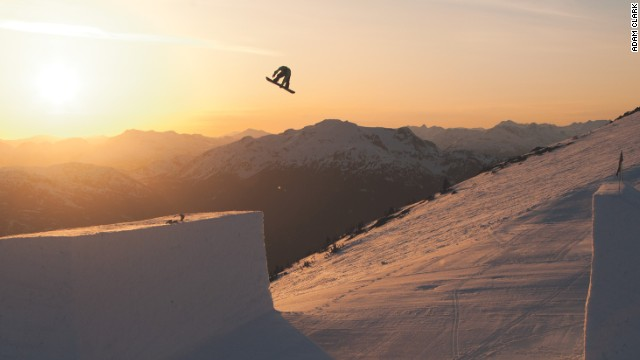 Sochi super-G silver medalist Andrew Weibrecht is a devotee of Whistler Blackcomb in British Colombia's Coast Mountains. He won his first Olympic medal, a bronze, in the Vancouver Games four years earlier at the resort so has found memories of the 'great snow.'