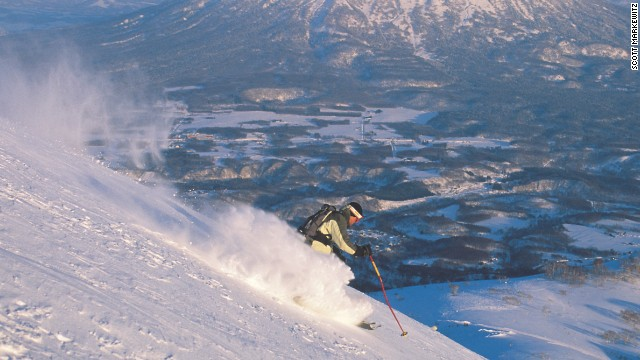 "Moe selected Niseko, which in the southwest of Hokkaido, Japan's second-largest island, as the place to go, not least because of the ""bottomless powder snow"" which enhances the experience for the best of the best."