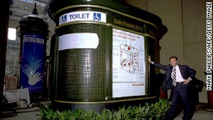 Public toilets: often French.