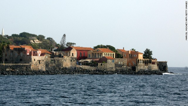 The Island of Goree off the coast of Senegal was the largest slave-trading center on the African coast from the 15th to the 19th centuries.
