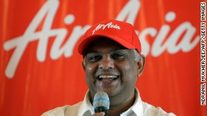 AirAsia chief executive Tony Fernandes has built the Malaysia-based company into Asia\'s largest budget carrier.