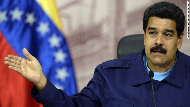 Venezuelan President Nicolas Maduro accuses Panama of pushing for regional organizations to intervene in Venezuela.