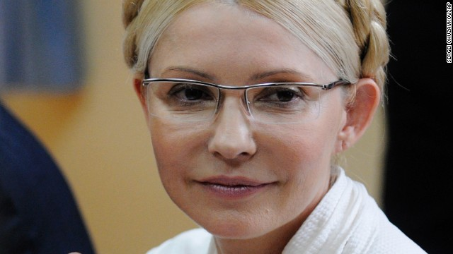 Yulia Tymoshenko lost the 2010 presidential election to Yanukovych. The following year, she was sentenced to seven years in prison after being convicted of abuse of authority over a natural gas deal negotiated with Russia, a punishment that the U.S. and Europe sees as politically motivated. Tymoshenko was freed from prison on Saturday, February 22, according to the press officer for her political party. Tymoshenko is seen here at her trial in 2011.
