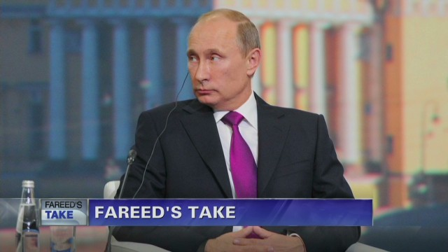 Ukraine peace deal negotiator & foreign minister of Poland Radek Sikorski on Fareed Zakaria GPS