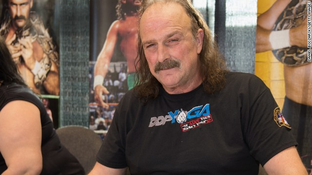 "Jake ""The Snake"" Roberts is known for never backing down from a fight, and that now includes a battle against cancer. <a href='http://www.tmz.com/2014/02/23/jake-the-snake-roberts-cancer-tumor-knee-surgery/' target='_blank'>According to TMZ</a>, the pro wrestler has a cancerous tumor behind his knee. Roberts hasn't let the news stop him, though. He planned to have the tumor removed in time for an upcoming match."