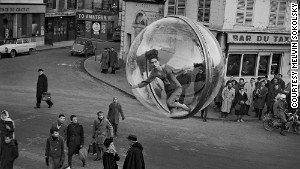 A futuristic vision in 1960s Paris