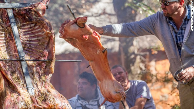 Braais can feature the usual barbecue staples such as chicken and pork, but some areas in South Africa also cook zebra, warthog and ostrich.
