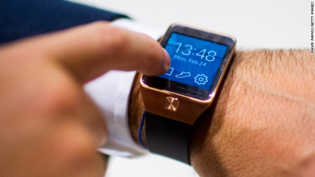 10. In addition to the Galaxy S5, Samsung announced the <strong>Gear2 </strong>watch, which <a href='http://money.cnn.com/2014/02/23/technology/mobile/samsung-gear-2-smartwatch/'>ditches the Android OS</a>.
