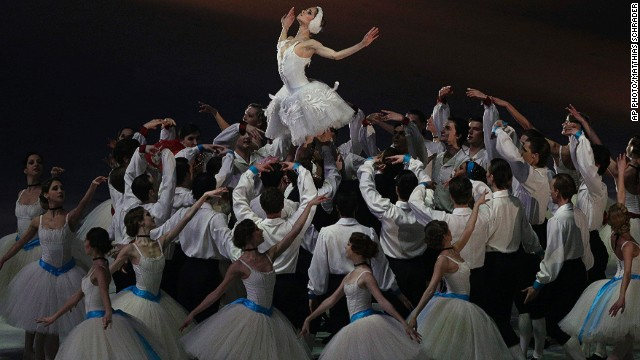 "FEBRUARY 24 - SOCHI, RUSSIA: Artists perform during the closing ceremony of the 2014 Winter Olympics on February 23. <a href='http://cnn.com/2014/02/24/sport/sochi-2014-protest-accomodation-weather/index.html?hpt=hp_c3'>""Russia delivered all what it had promised,""</a> said International Olympic Committee (IOC) President Thomas Bach in his speech at the ceremony."