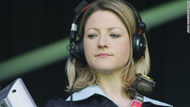 Jacqui Oatley became the first female broadcaster to commentate on Match of the Day -- the BBC's flagship UK football highlights show. She has gone on to establish herself as one of Britain's top reporters.